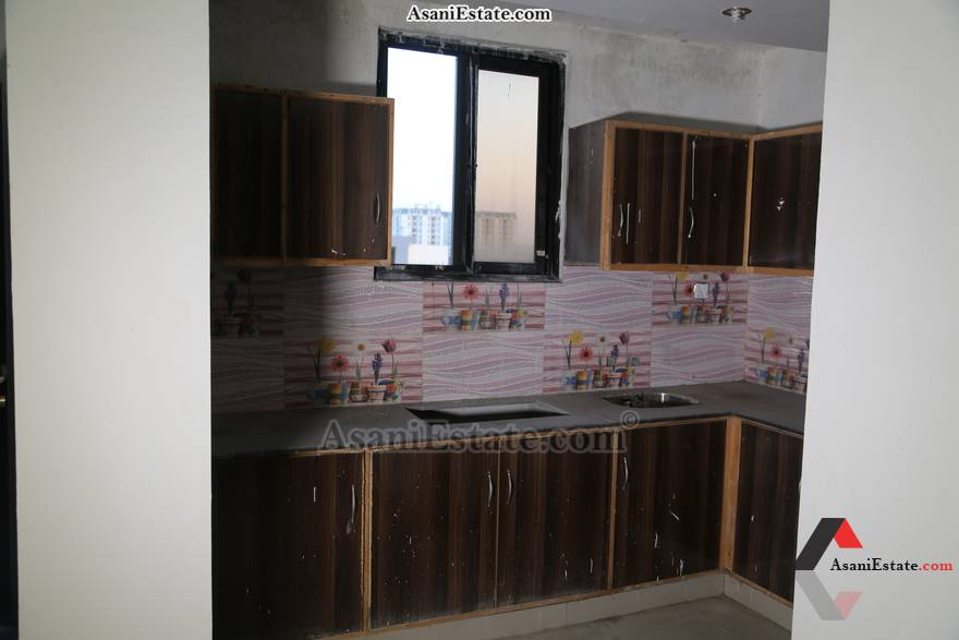 Kitchen 1600 sq feet 7.1 Marlas flat apartment for rent Islamabad sector E 11