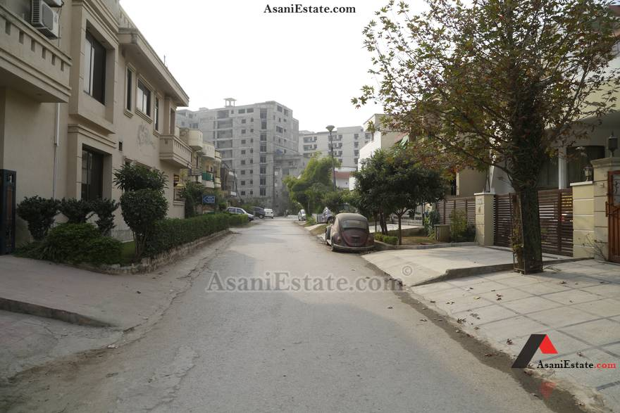 Street View 35x70 feet 11 Marlas portion for rent Islamabad sector E 11