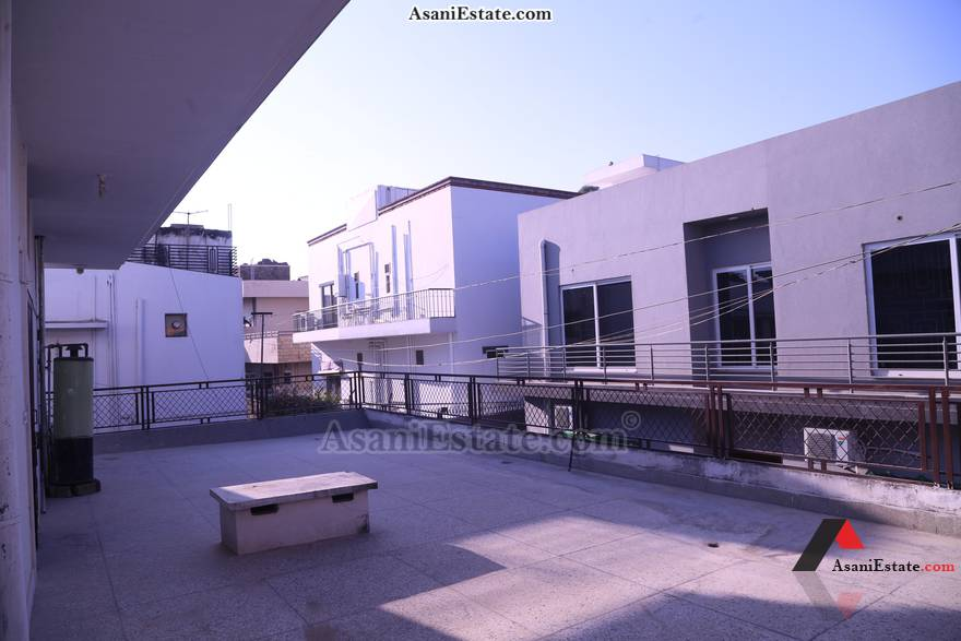 Balcony/Terrace 20x14 feet flat apartment for rent Islamabad sector F 11