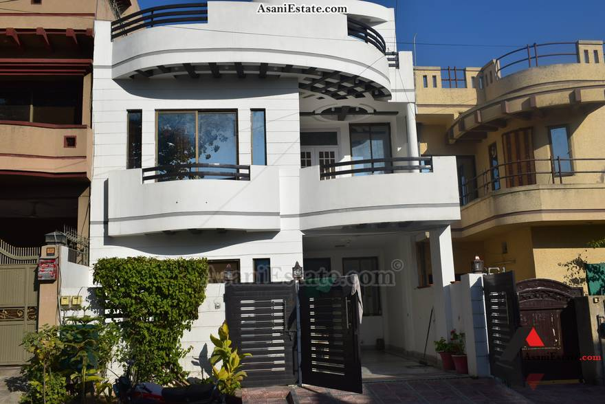 Outside View 1451 square feet 6.45 Marla house for sale Islamabad sector E 11