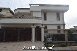 Outside View 50x90 feet 1 Kanal house for sale Islamabad sector E 11