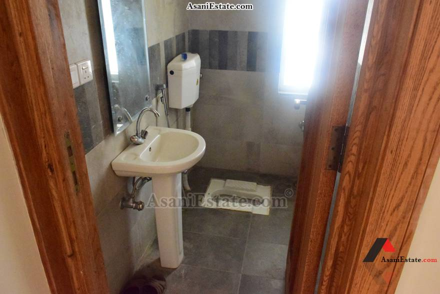 Ground Floor Guest Washroom 50x90 feet 1 Kanal portion for rent Islamabad sector E 11