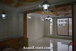 Ground Floor Din/Drwing Rm 90x40 feet 16 Marla house for sale Islamabad sector F 11