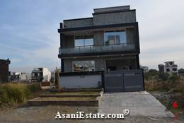 Outside View 25x40 feet 4.4 Marla house for sale Islamabad sector D 12