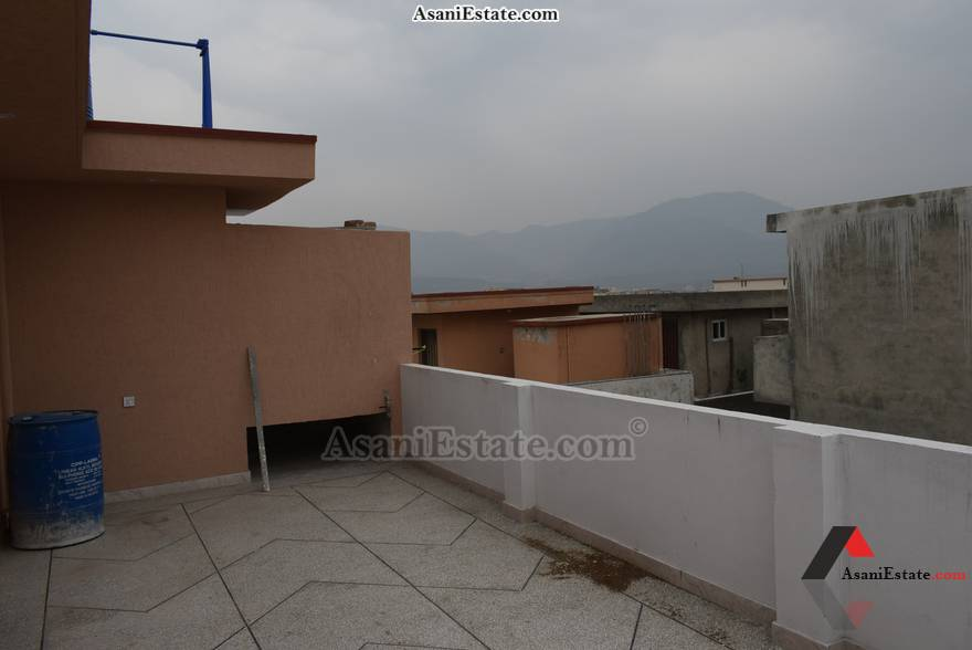 Rooftop View 25x40 feet 4.4 Marla house for rent Islamabad sector D 12