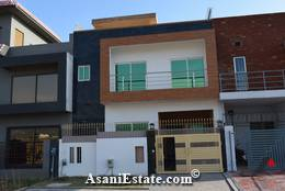 Outside View 25x50 feet 5.5 Marla house for sale Islamabad sector D 12