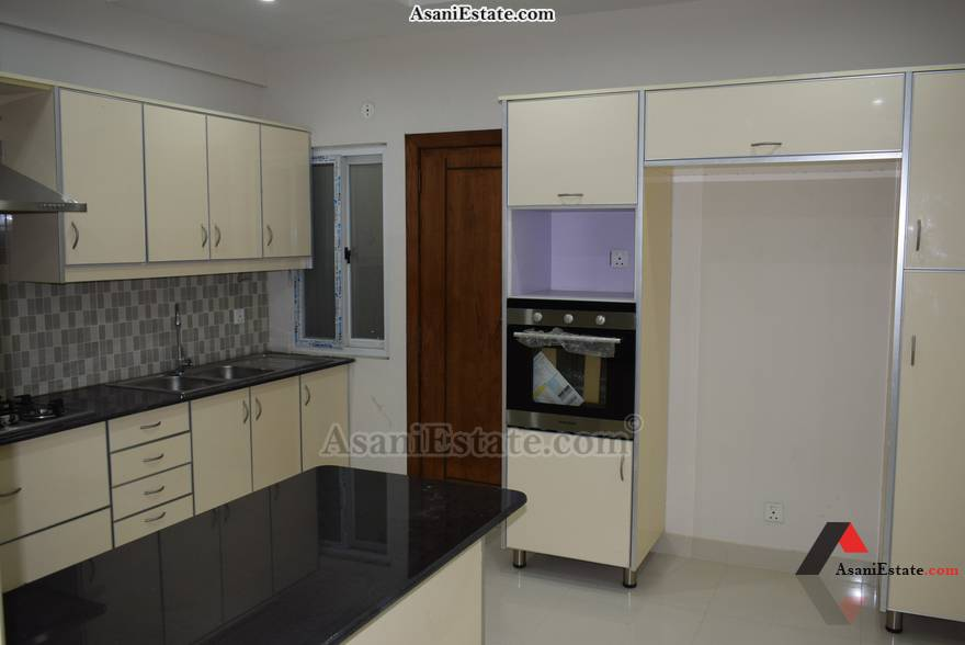 Kitchen 2700 sq feet 12 Marla flat apartment for sale Islamabad sector E 11