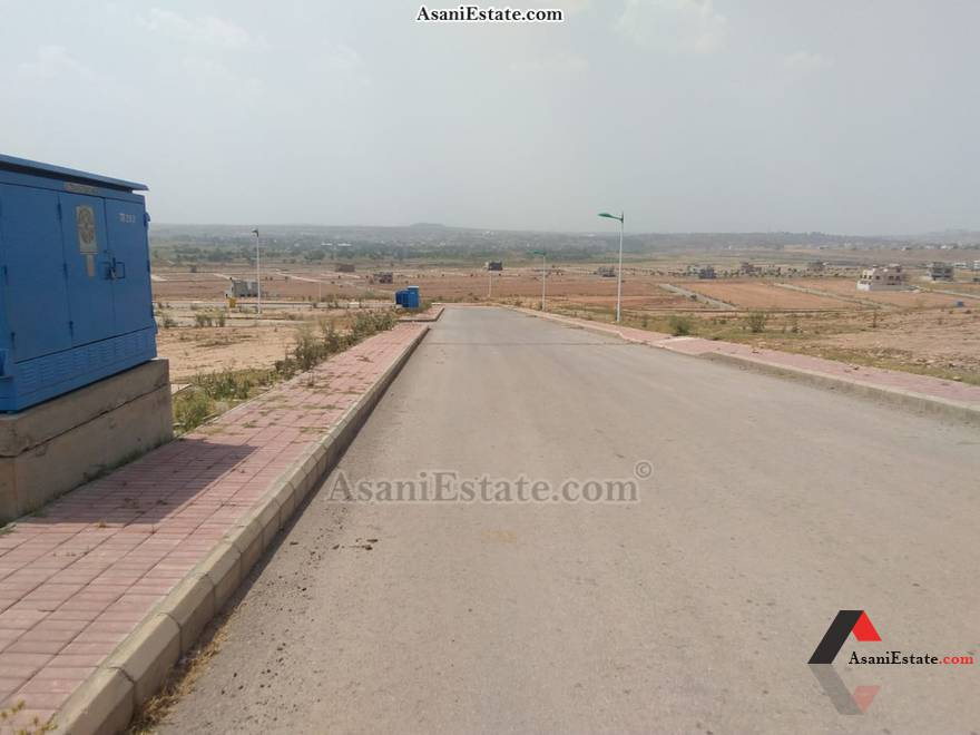 Street View 10 Marla residential plot for sale Islamabad Block L Bahria Town